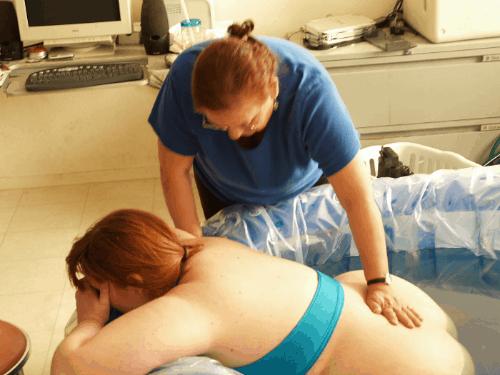 plus size home births