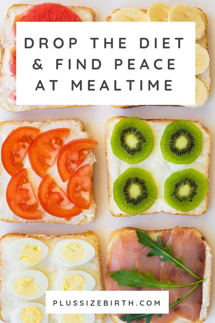 bread sliced fruit and vegetables