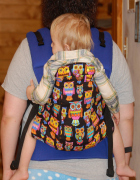 plus size babywearing Kindercarry