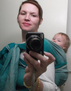plus size babywearing Oscha