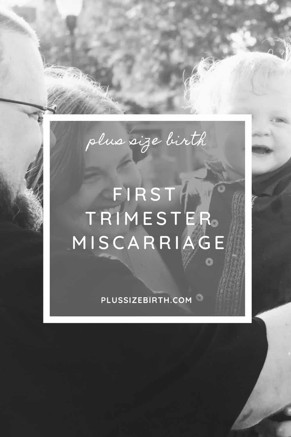a mom who had a miscarriage