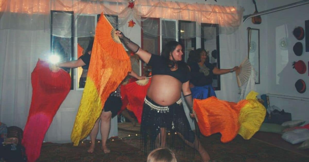 Belly Dancing While Pregnant And Plus Size Belly
