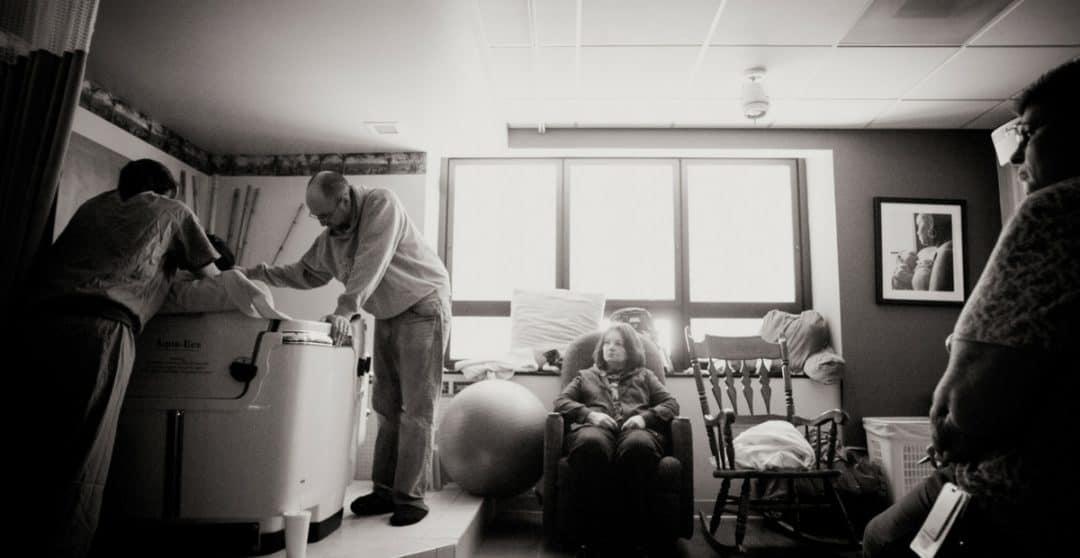 PCOS Birth Center Birth Story