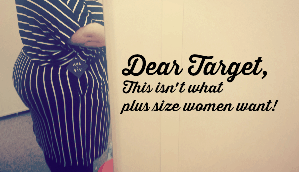 d6042655 New Target Plus Size Clothing Line Disaster | Plus Size Birth