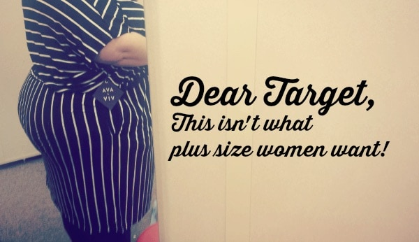 New Target Plus Size Clothing Line Disaster | Plus Size Birth