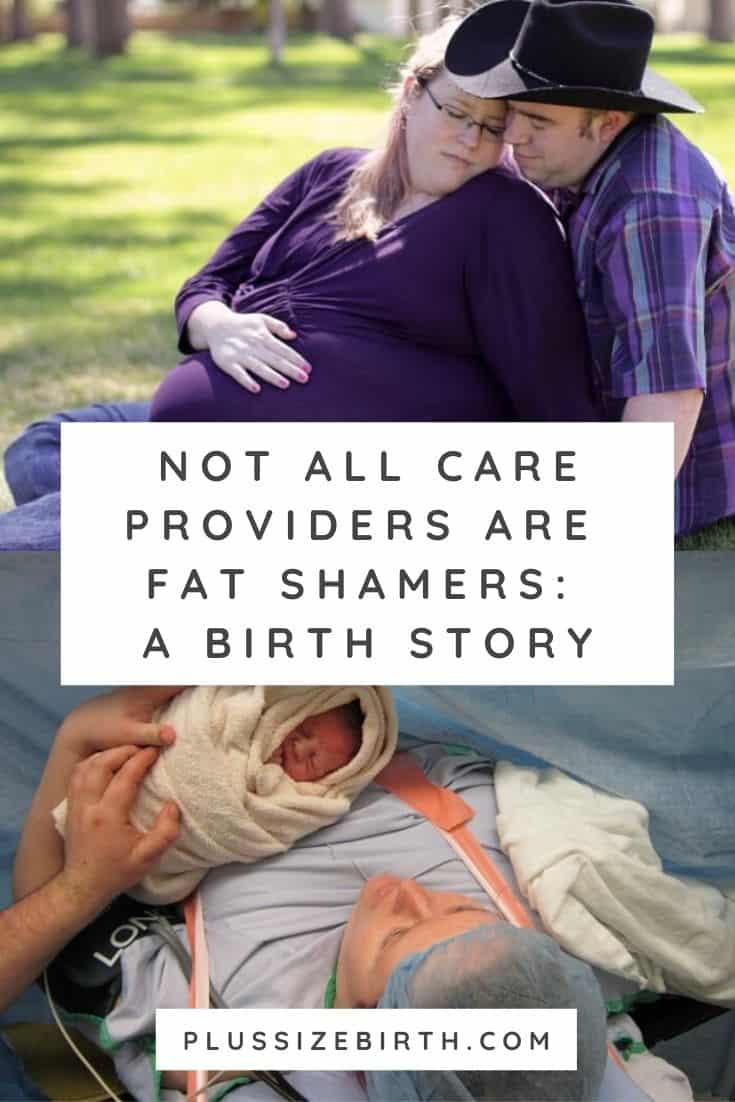 plus size pregnant woman and plus size pregnant woman having a c-section