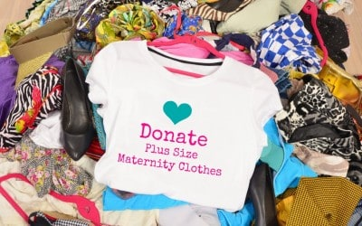 A New Way to Donate Plus Size Maternity Clothes