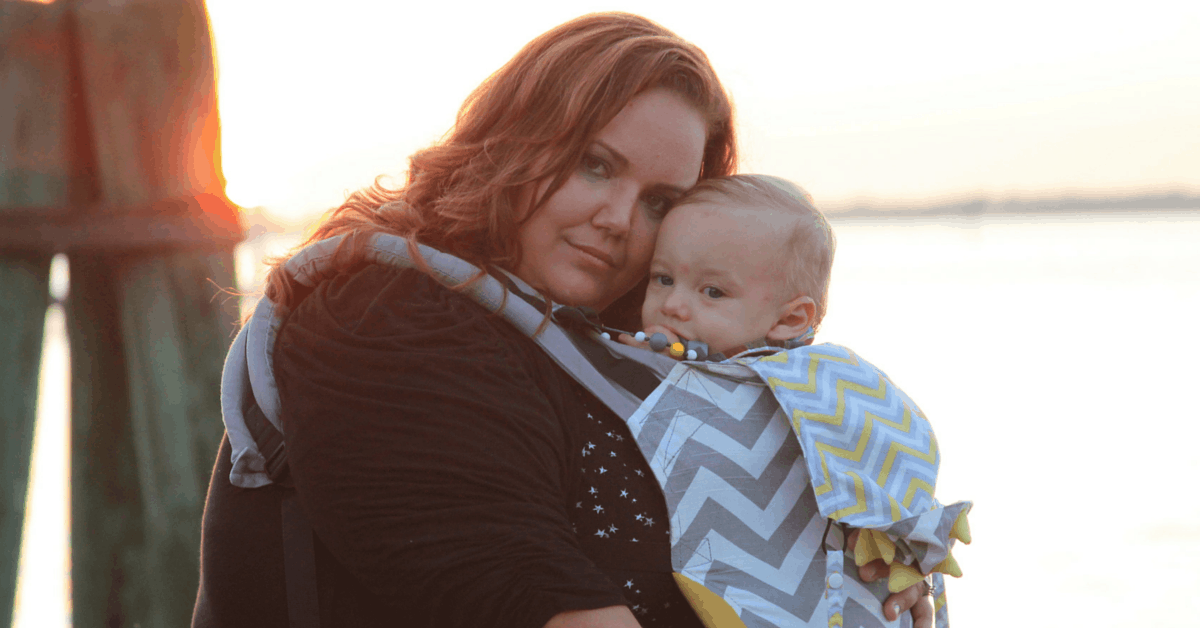 plus size baby carrier