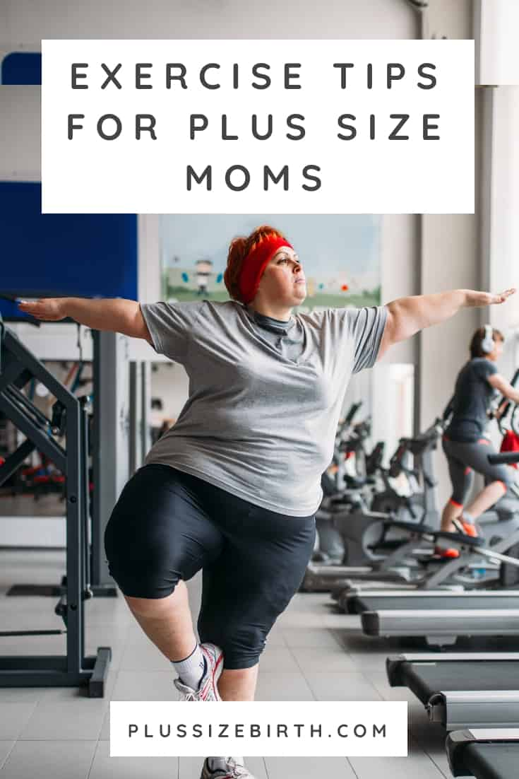 Exercise Tips for Plus Size Moms