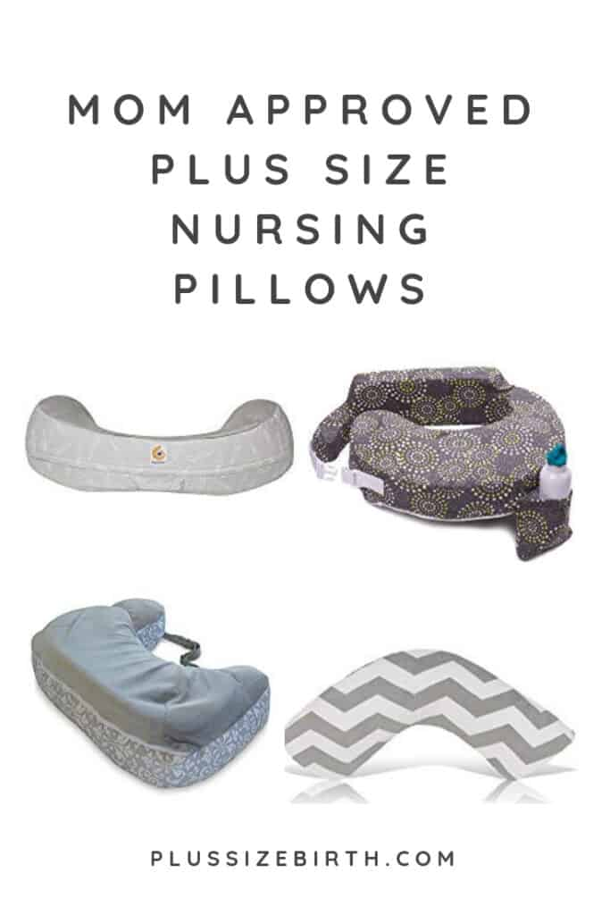 plus size nursing pillows