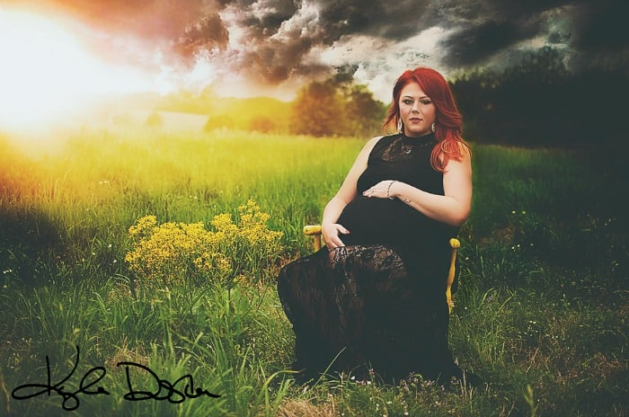 plus size pregnancy maternity photos