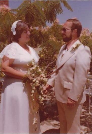 1970's Wedding