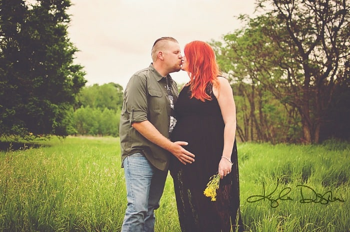 plus size pregnancy maternity photo