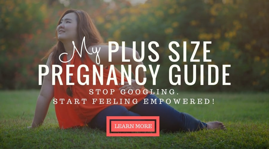 My Plus Size Pregnancy Guide Ad