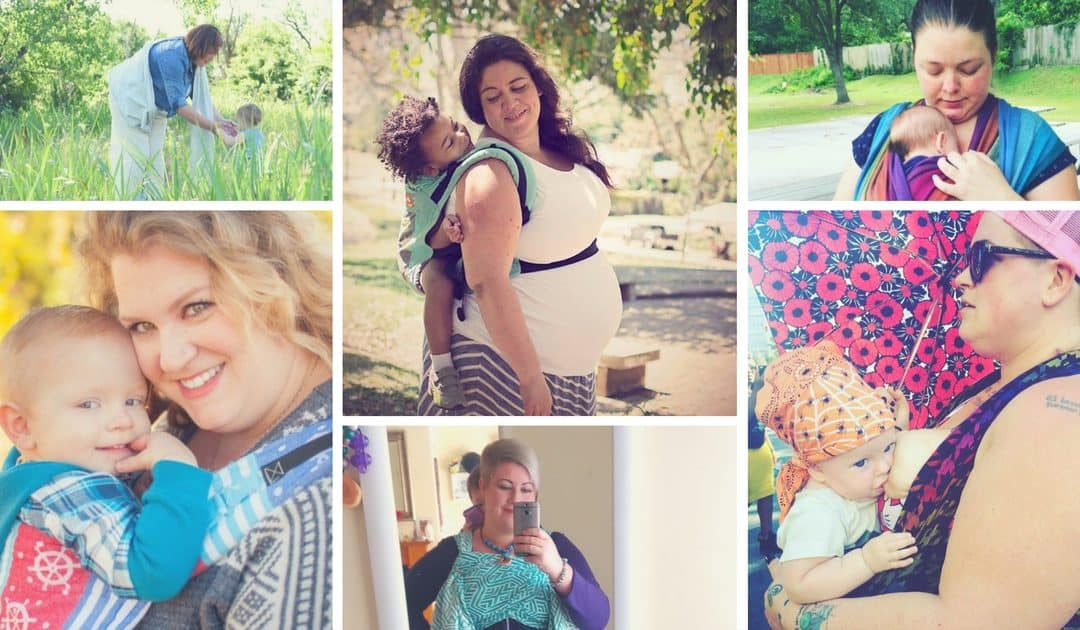 Plus Size Moms Share That Babywearing Is For EVERYbody!