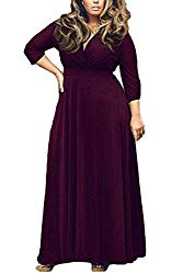maroon plus size maternity dress