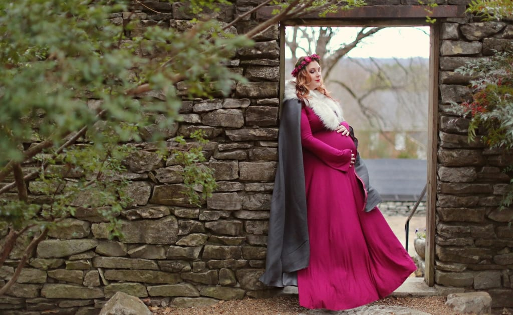 A Whimsical Plus Size Maternity Photo Shoot