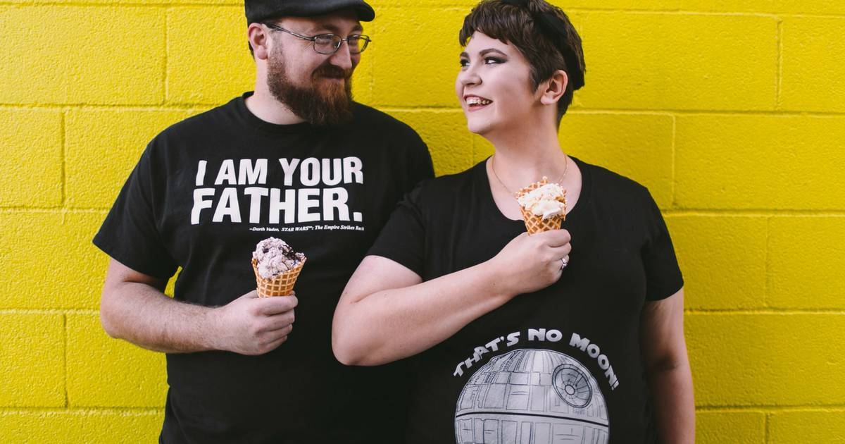 Star Wars Maternity Shoot- Channeling Our Inner Dorkiness