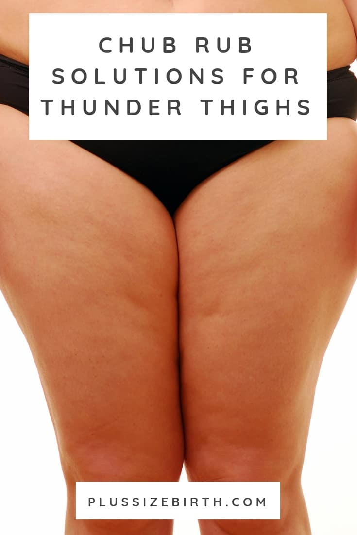 woman's thighs