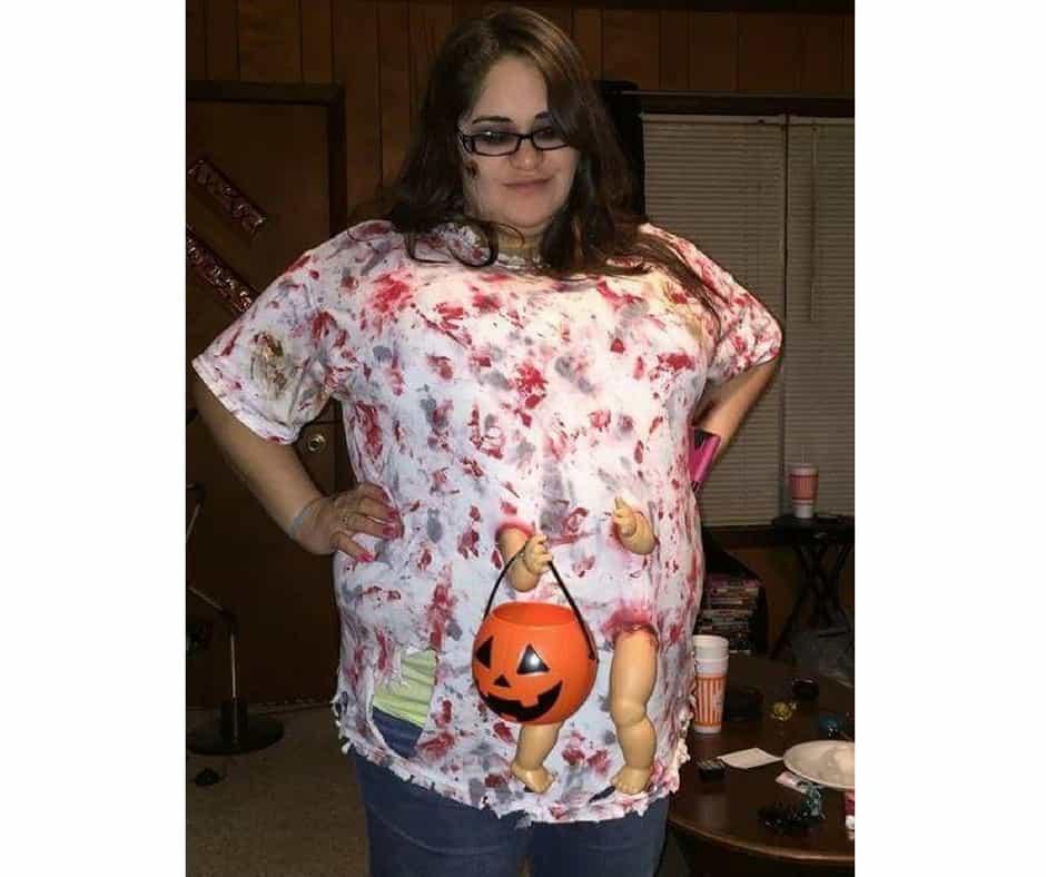 Plus Size Halloween Costume Zombie