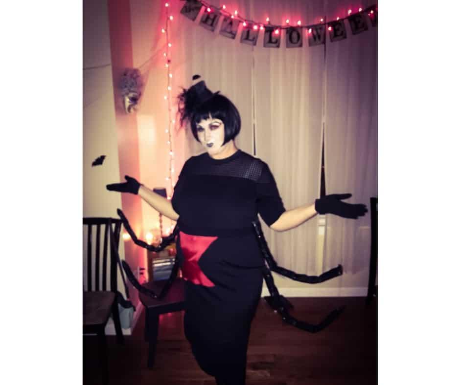 Plus Size Halloween Costume black widow