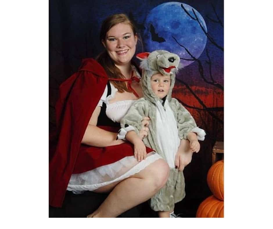 Plus Size Halloween Costume red riding hood