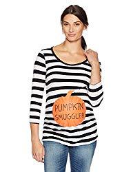 Plus Size Maternity Pumpkin T-Shirt