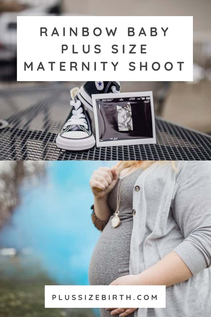 Rainbow baby maternity photos