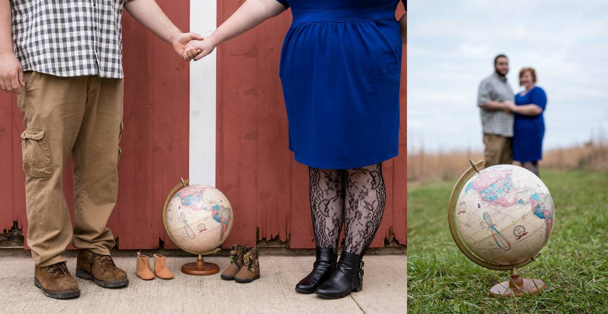 Maternity Adoption Photo Shoot Plus Size 2