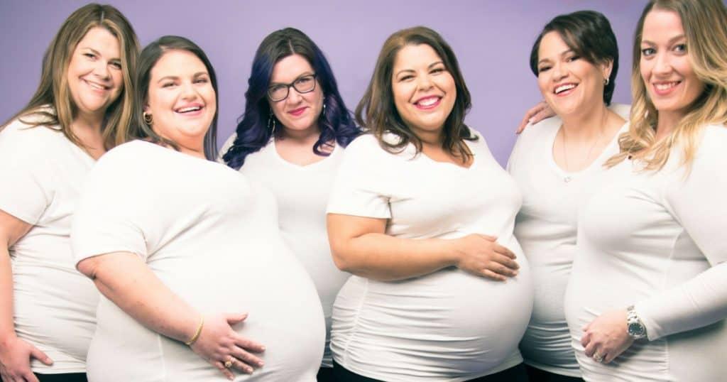 Plus-Size Pregnant & Proud Photo Shoot