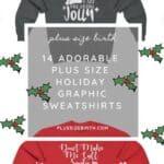 Plus Size Holiday Graphic Sweatshirts