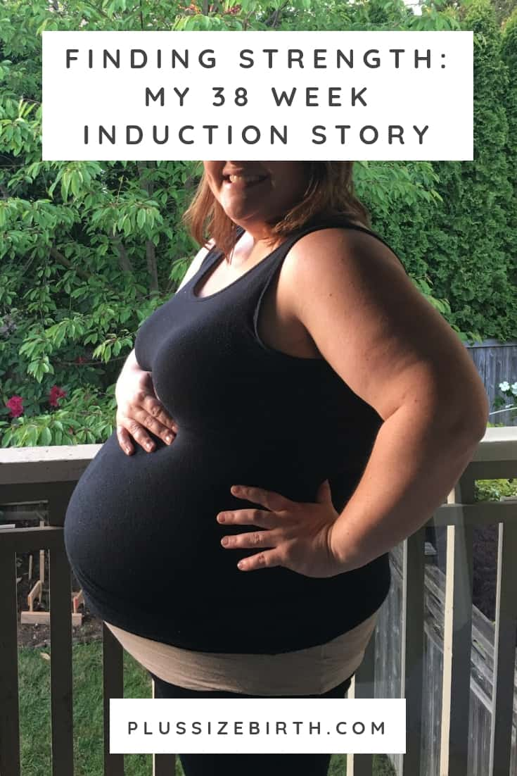 38 Week Induction Story