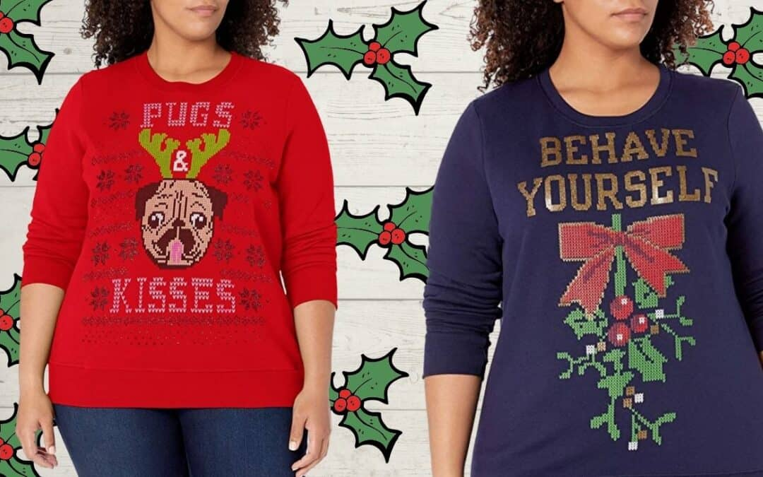 14 Adorable Plus Size Holiday Graphic Sweatshirts (Maternity, Too!)