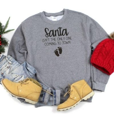Santa Isn't The Only One Coming To Town Plus Size