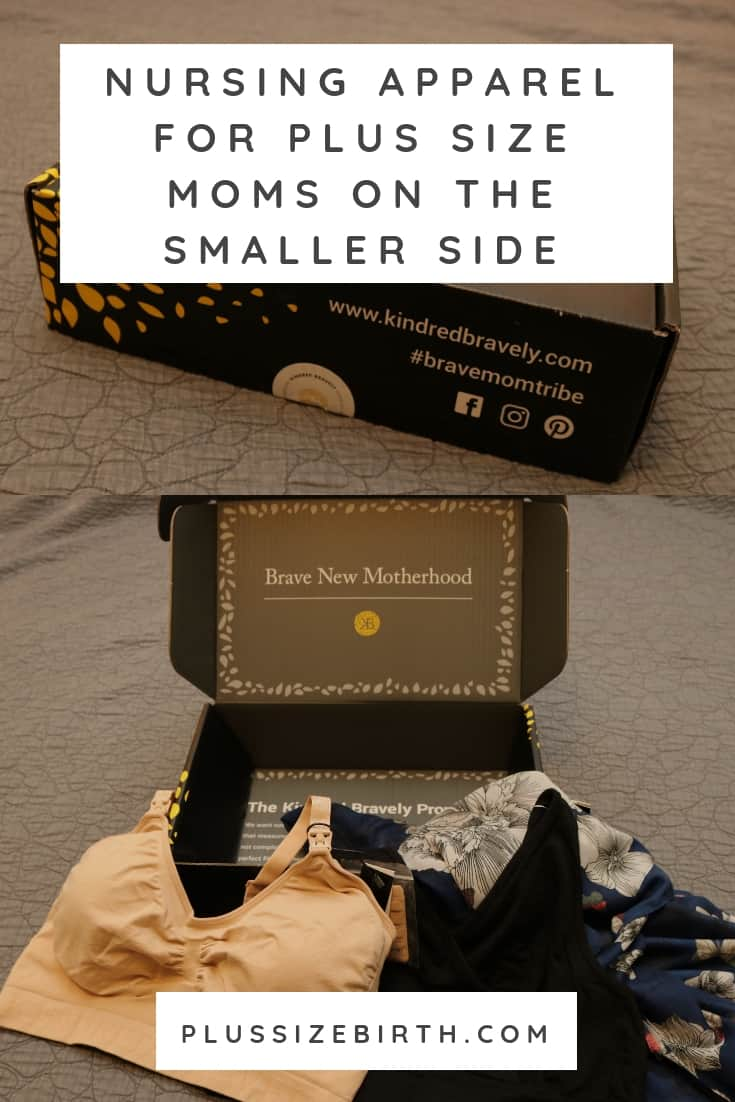 NURSING APPAREL PLUS SIZE MOMS ON THE SMALLER SIDE