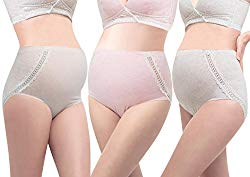 Plus size maternity briefs
