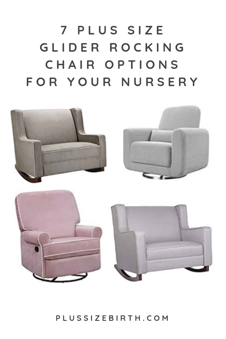 Sensational 7 Extra Wide Glider And Plus Size Rocking Chair Nursery Options Ncnpc Chair Design For Home Ncnpcorg