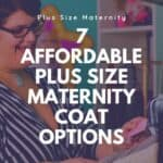 plus size maternity jackets