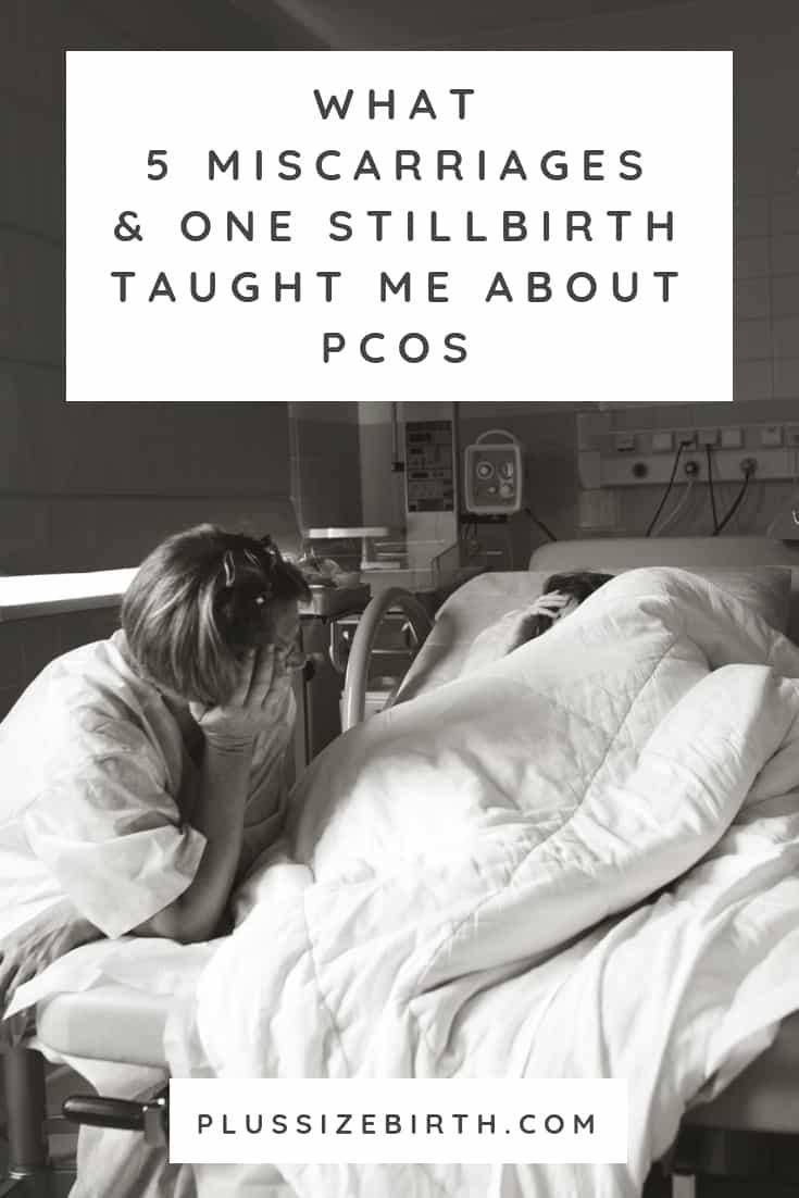 stillbirth pcos mom crying