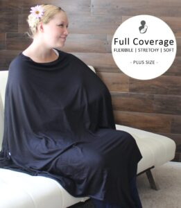 plus size nursing cover poncho