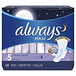 Always plus size pads