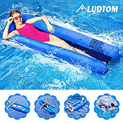 Pool float with high weight limit