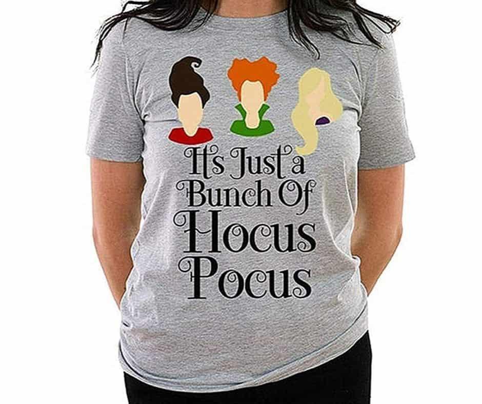 plus size hocus pocus tshirt