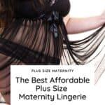 plus size maternity lingerie