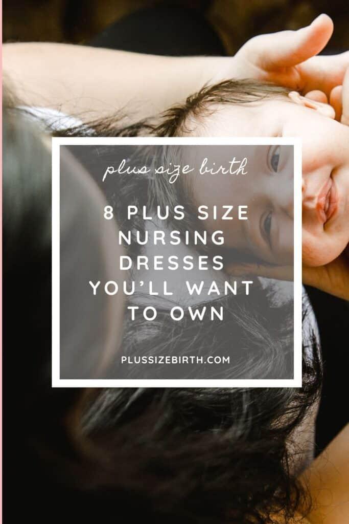 Plus Size Nursing Dresses