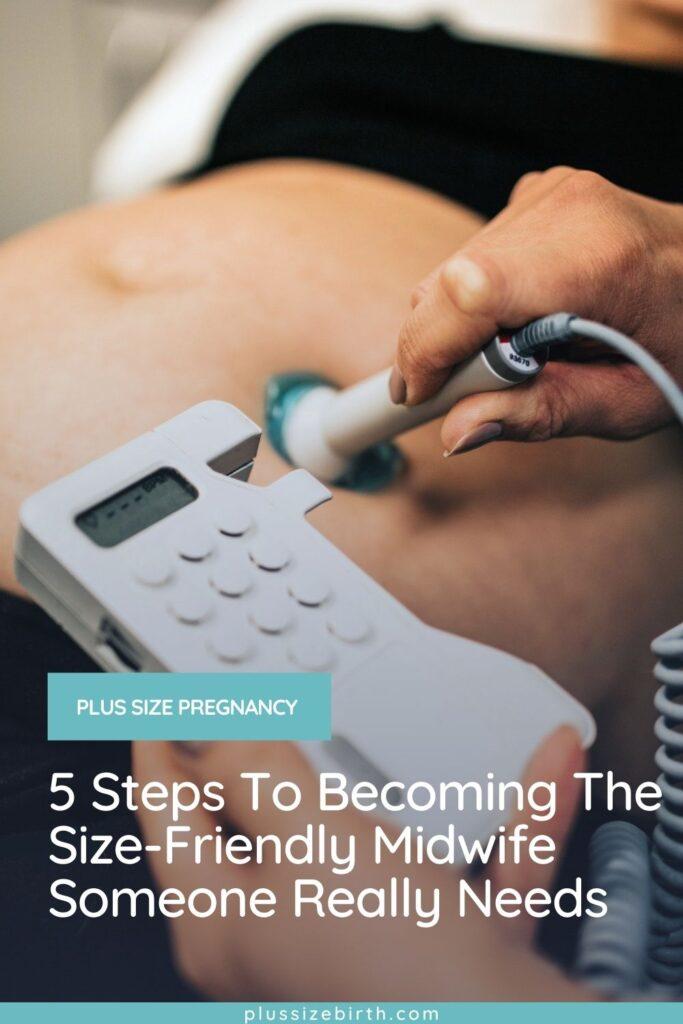 plus size pregnant woman fetal heart rate