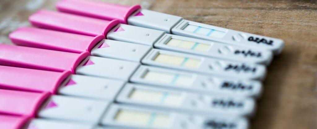 plus size TTC pregnancy tests