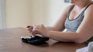 plus size woman checking for plus size pregnancy risks